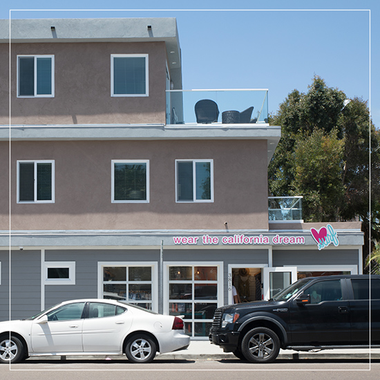 Luv Surf Boutique, Mixed-Use <br> Mission Bay, CA